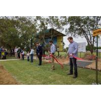 Click Go The Ribbon Cutting Scissors in Blackall