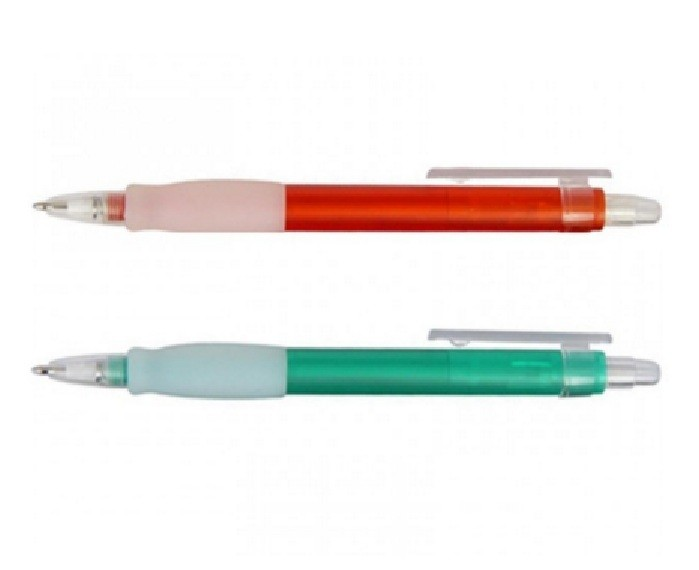 Red and Green Harvard Promo Pen