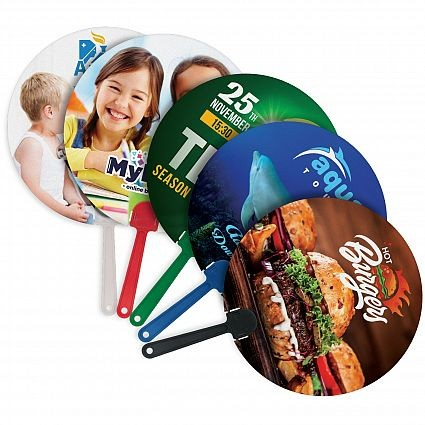 Full Colour Printed Hand Fans