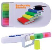 Set of 3 Retractable Wax Markers