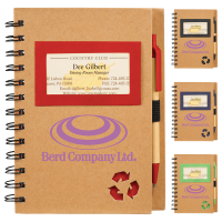 Eco Star Notebook and Pen