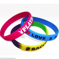 One Colour Printing Wristbands