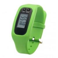 LCD Wristband Pedometer Watch