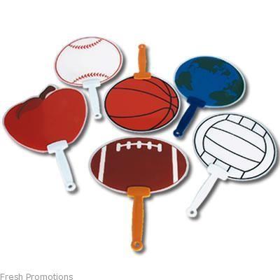 Custom Shape Sports Events Fans