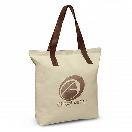 Ascot Tote Bag Natural/Brown