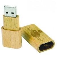 Bamboo Casing Flash Drives