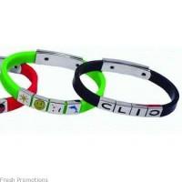 Silicone Charm Bracelets