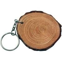 Natural Wood Keyrings
