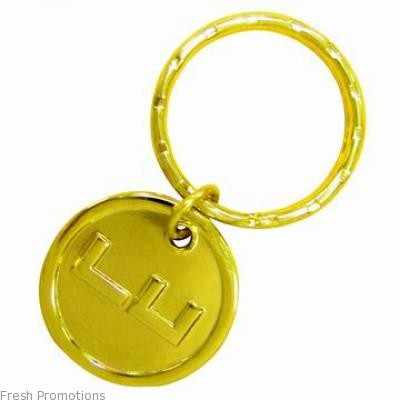 Gold Plated Key Tags