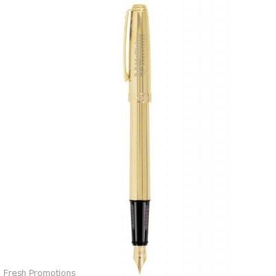 Sheaffer Prelude Fluted 22k Gold Fountain Pen
