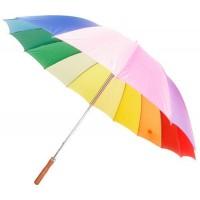 16 Panel Rainbow Umbrella