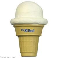 Ice Cream Cone Stress Balls
