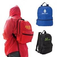Rain Jacket and Backpack Combo