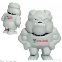 Bulldog Mascot Stress Balls
