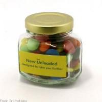 Printed Jar Of Choc Beans
