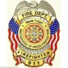 Custom Made Firemans Badges
