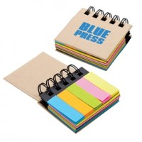 Sticky Notes and Flags Notebook