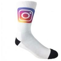 Custom Printed Crew Socks