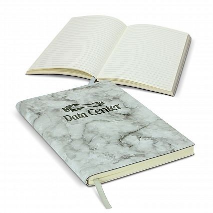 Marble Cover Notebook Branded