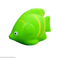 Green Fish Stress Balls