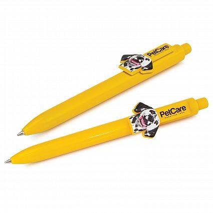 Eris Custom Clip Pen Yellow