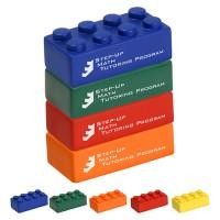 Four Piece Building Block Stress Toys