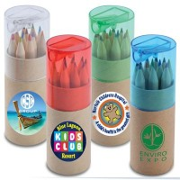 Promotional Coloured Pencils In Tube