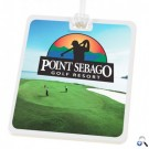 Full Colour Rectangle Golf Tags