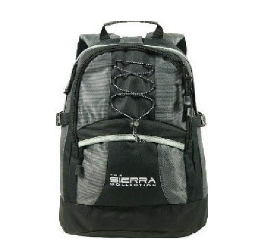 Black/Silver Nevada Padded Backpack