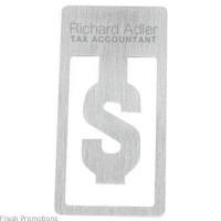 Dollar Sign Bookmark Clip