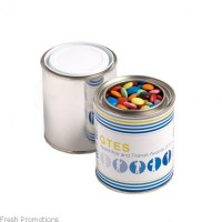 Small Paint Tin Filled With Smarties