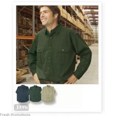Jb Long Sleeve Work Shirt