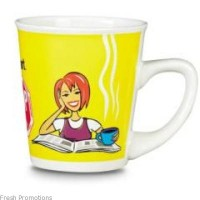 Conical Promotional Mug