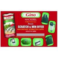 Scratch & Win Game Cards