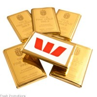 Chocolate Filled Gold Bullion