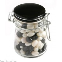 Glass Jars With Jelly Beans