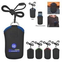 Neoprene Portable Electronics Neck Case