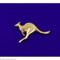 Gold Kangaroo Lapel Pins