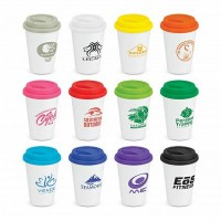 Double Walled Reusable Ceramic Cups