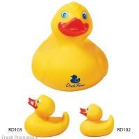 Printed Rubber Duckies