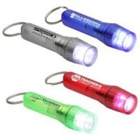 Clear Twist Light Keyring