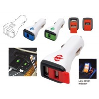 USB Car Double Charger