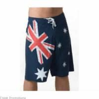 Aussie Distressed Short