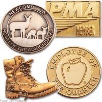Die Struck Badges