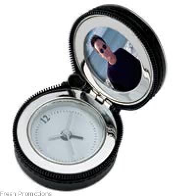Travel Clock In Zipper Case