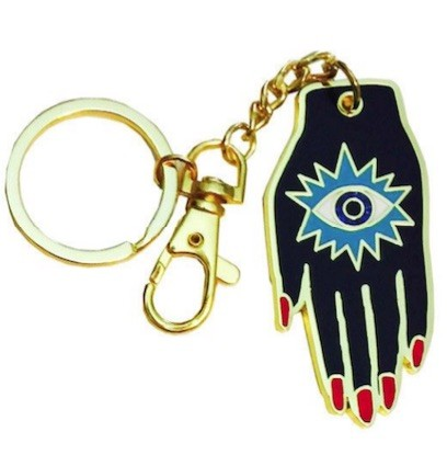 Custom Enamel Metal Keyrings