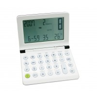 Traveller Clock with Calculator
