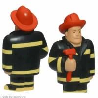 Fireman Stress Toys