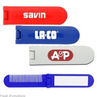 Travel Comb With Mirror