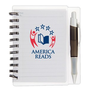 Spiral Bound Notebook With Pen